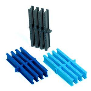 Решетки переливного лотка из полипропилена, высота 34 мм