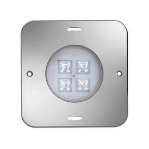 Подводный прожектор WIBRE 4.0102, квадратная лицевая панель