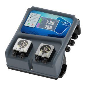 Станция SYCLOPE HYDRO'Touch с pH и ORP датчиками и двумя насосами - контроль качества воды в частных бассейнах