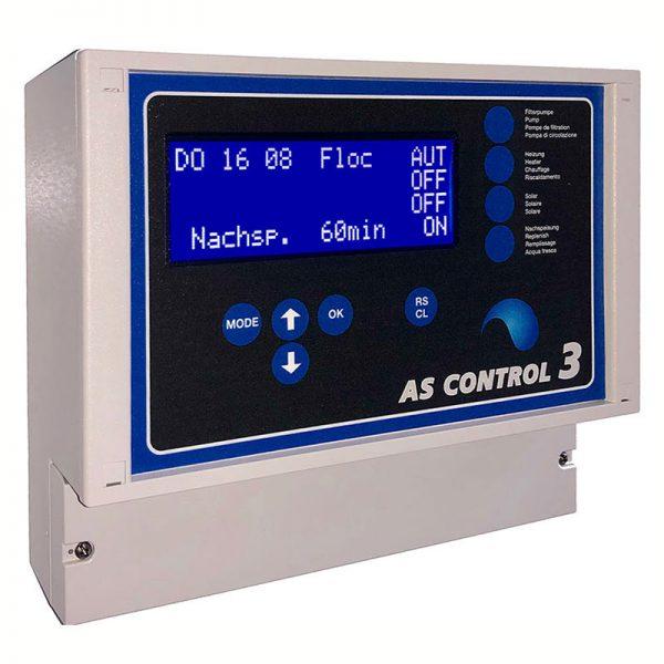 AS Control 3 - новейшее поколение систем управления бассейном