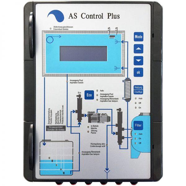 AS Control Plus - система управления для бассейнов с переливом