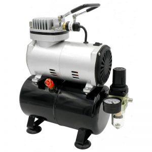Воздушный компрессор Createx для клапанов BESGO с ресивером 3л, малошумный 45 дб