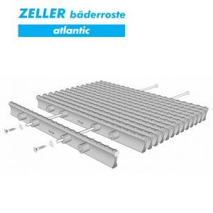 Переливные решетки ZELLER atlantic из полипропилена, 4 штекера, Германия