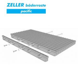 Переливные решетки ZELLER pacific из полипропилена, 6 штекеров, Германия